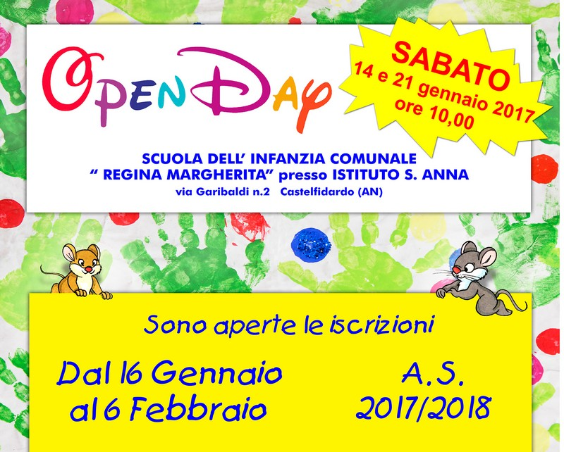 Open day all`Istituto Sant`Anna