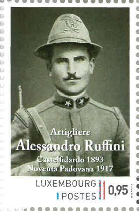 3 novembre; centenario del soldato Ruffini