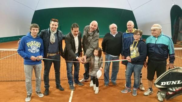 Nuova copertura e fari a led al Circolo Tennis