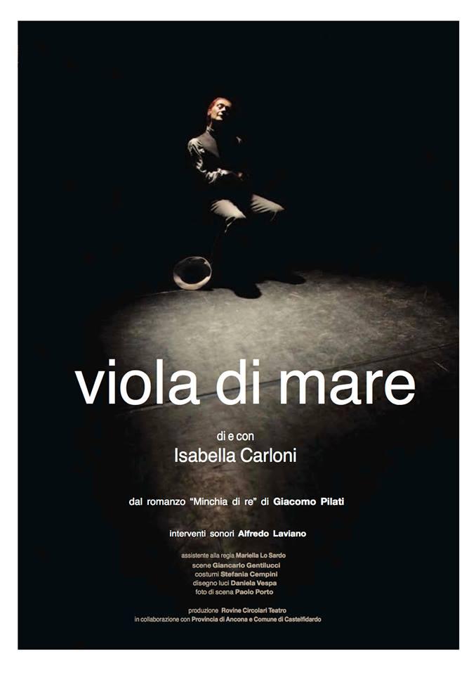 Isabella Carloni all`Astra in Viola di mare