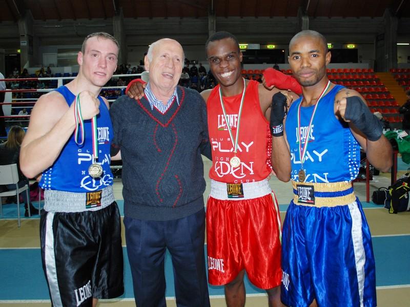 Boxing club, tre campioni interregionali