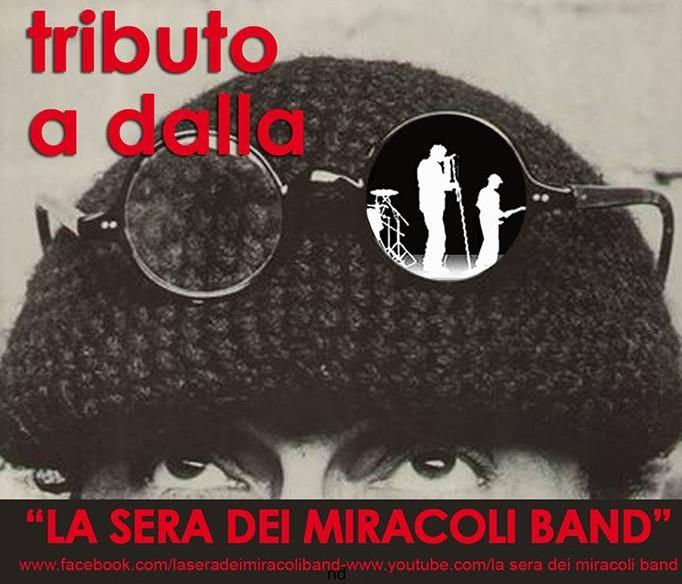 La sera dei miracoli band, omaggio a Lucio Dalla