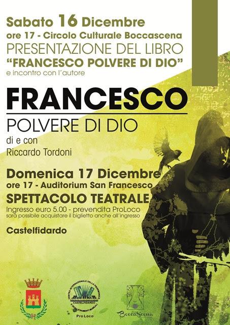 Francesco polvere di Dio domenica in Auditorium