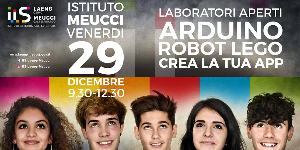 Laboratori aperti venerdì 29 al Meucci
