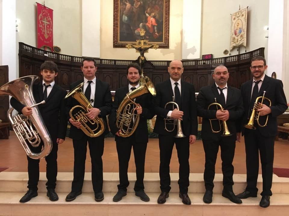 il Brass-Ensemble in Collegiata