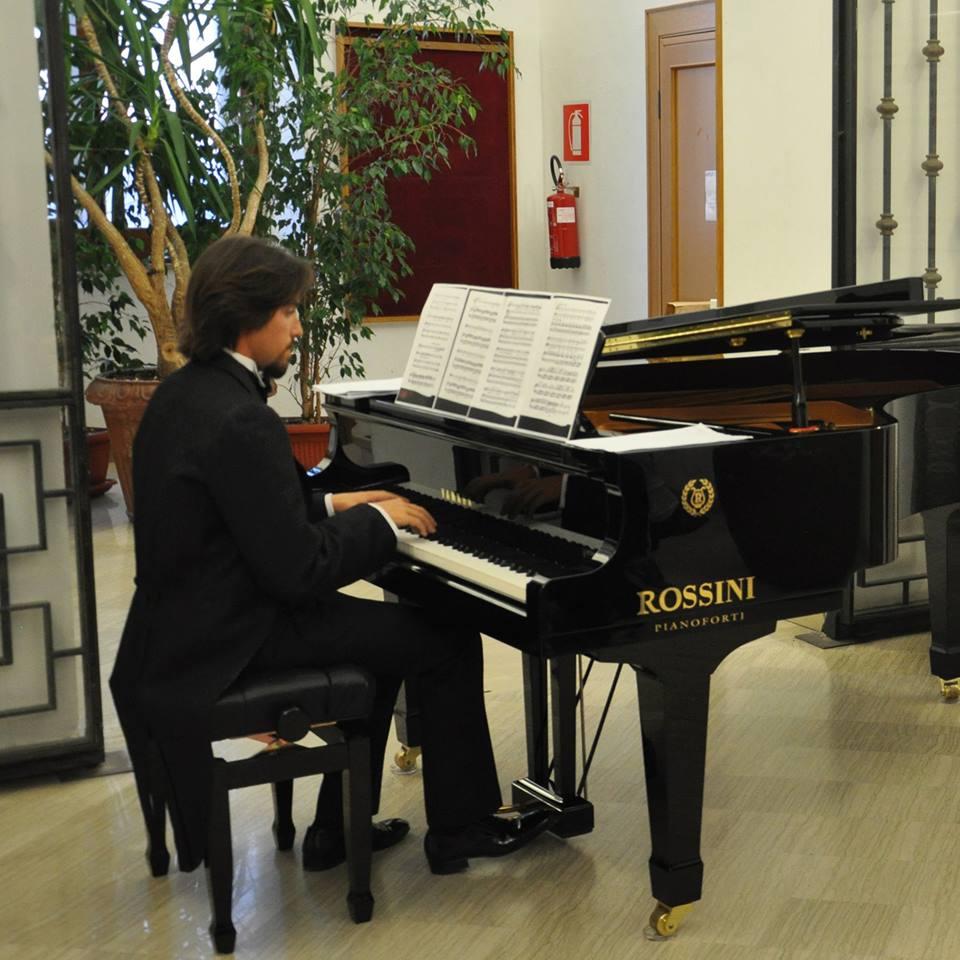 Domenica il recital pianistico di Lorenzo Marchesini