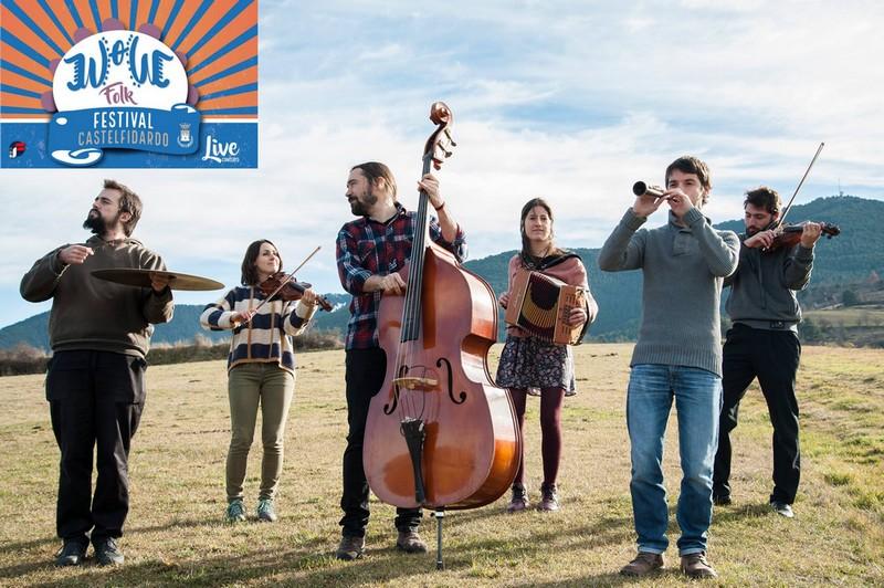 Anteprima Wow Folk Festival con l`Orquestrina Trama