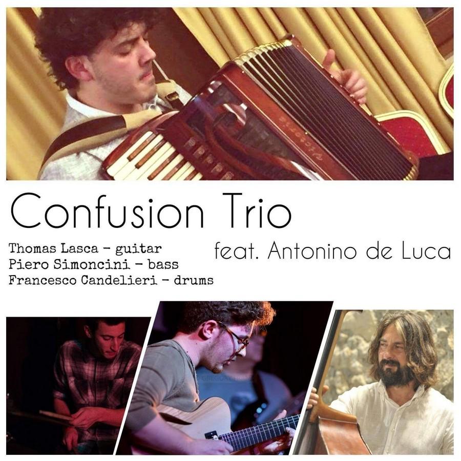 Jazz confusion trio con Antonino De Luca