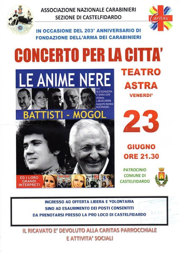 Concerto per la città venerdì all`Astra