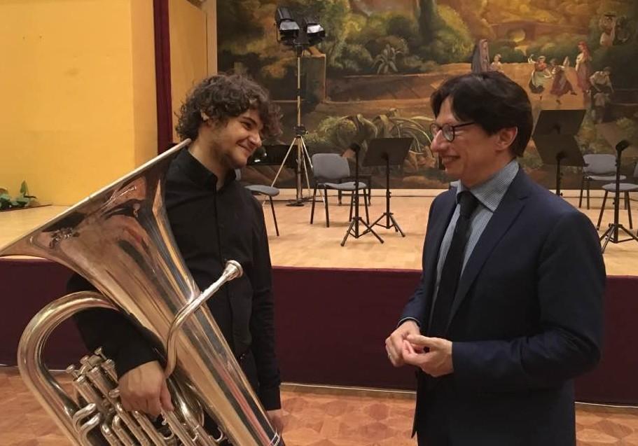 Gianmario Strappati col quintetto d`archi a Budapest