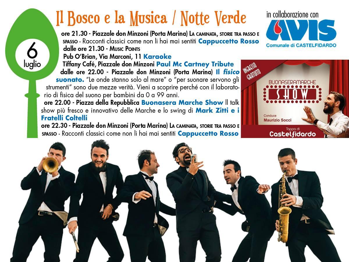 """Il """"Buonasera Marche show"""" apre Girogustando"""