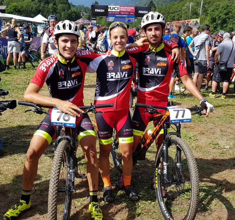 Superbike Bravi platform team, emozioni mondiali