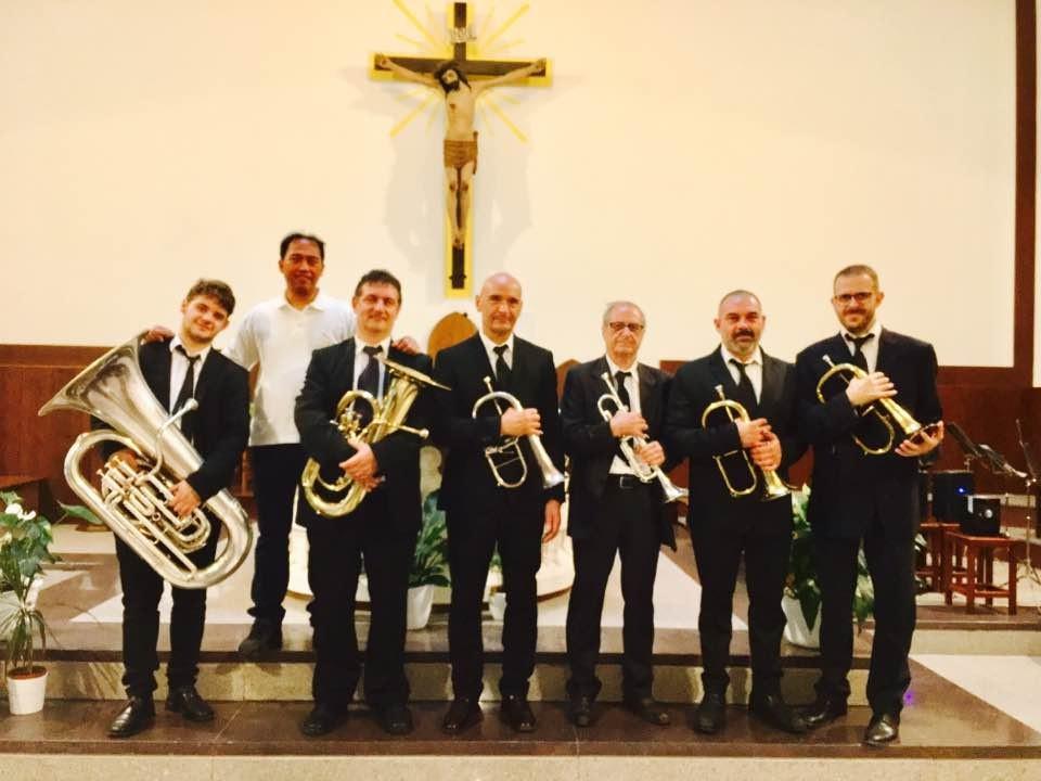 Le melodie del Brass sextet a Sant`Antonio