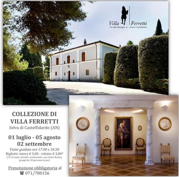 Visite guidate alla collezione di Villa Ferretti