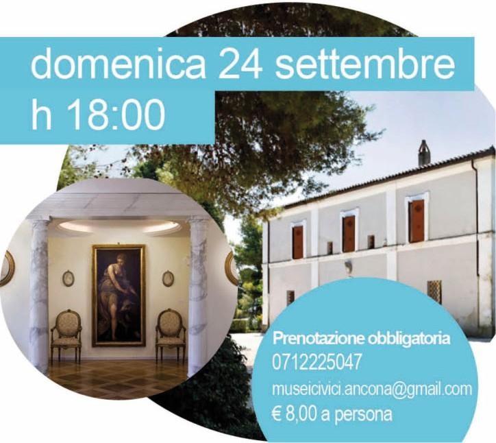 Dentro e fuori la Pinacoteca a Villa Ferretti