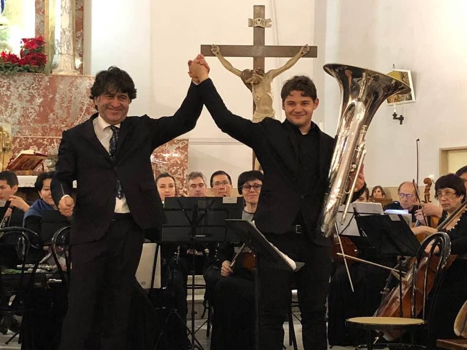 Gianmario Strappati, uno splendido tour natalizio