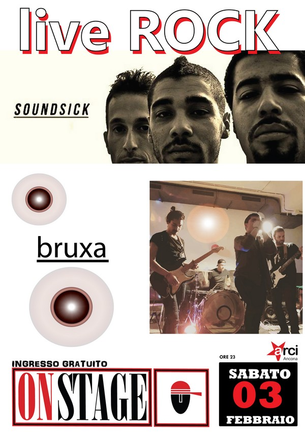 Soundsick e Bruxa nel week-end dell`On Stage