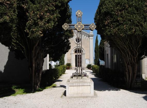 Commemorazione defunti presso il cimitero
