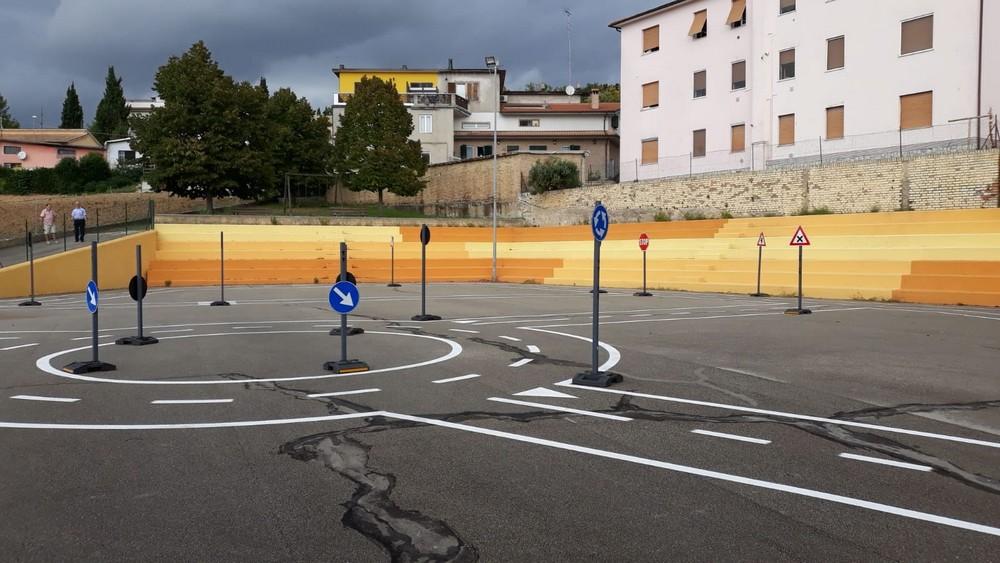 Una pista didattica intitolata a Michele Scarponi