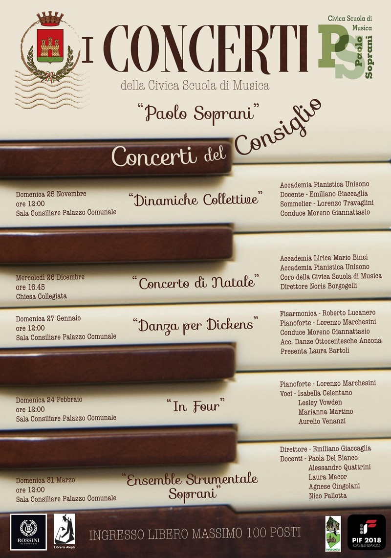 """Concerti del Consiglio e """"Dinamiche collettive"""""""