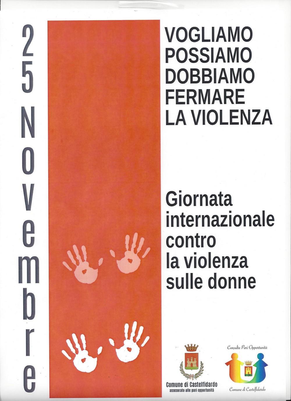 Installazioni artistiche contro la violenza