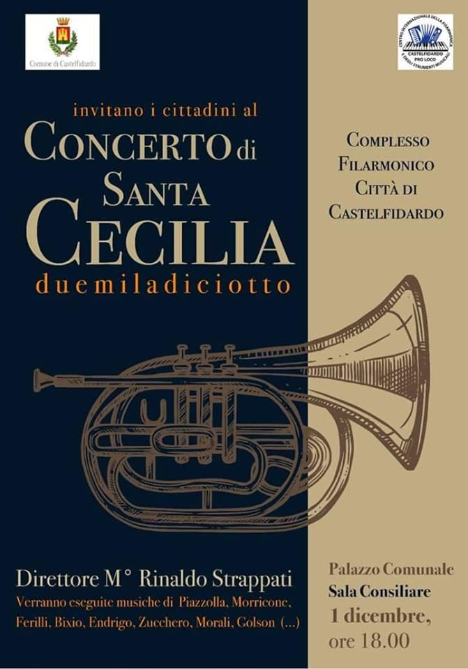 Concerto di Santa Cecilia al Salone degli Stemmi