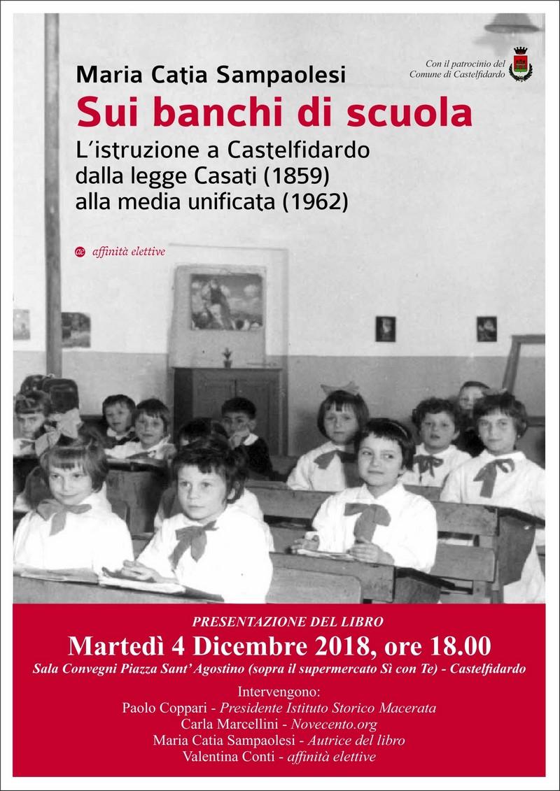 """Catia Sampaolesi riporta """"Sui banchi di scuola"""""""