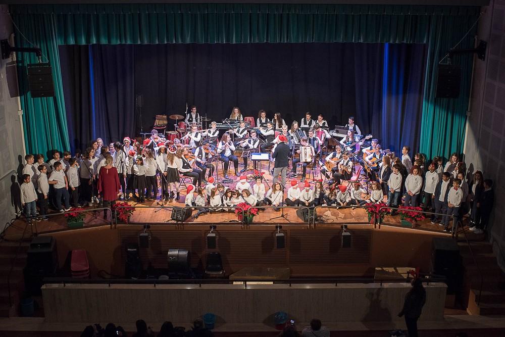Un emozionante concerto di Natale con l`I.C. Soprani