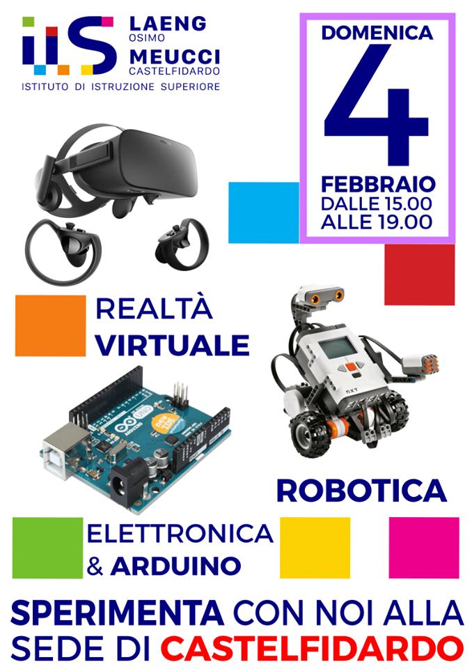 Al Meucci un viaggio nella realtà virtuale