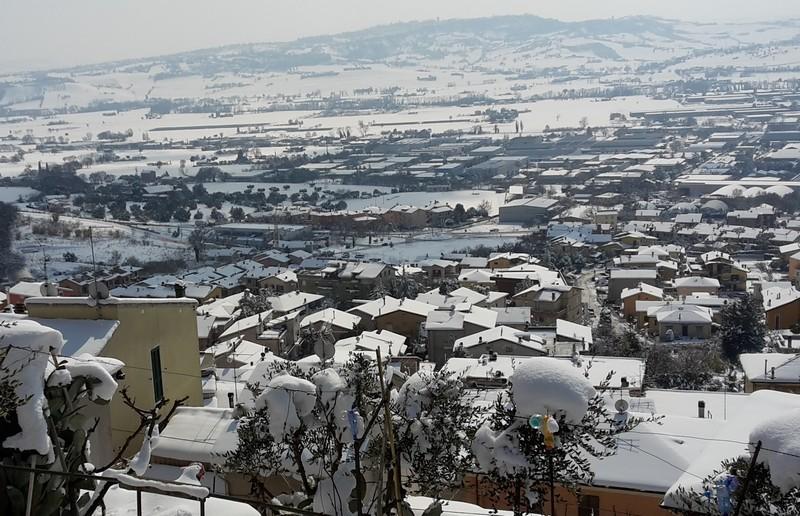 Emergenza neve, viabilità per buona parte ripristinata
