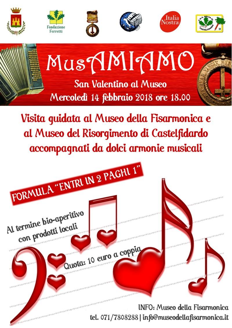 MusAMIAMO, un San Valentino culturale