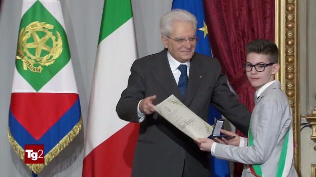 Alessio Burini Alfiere della Repubblica