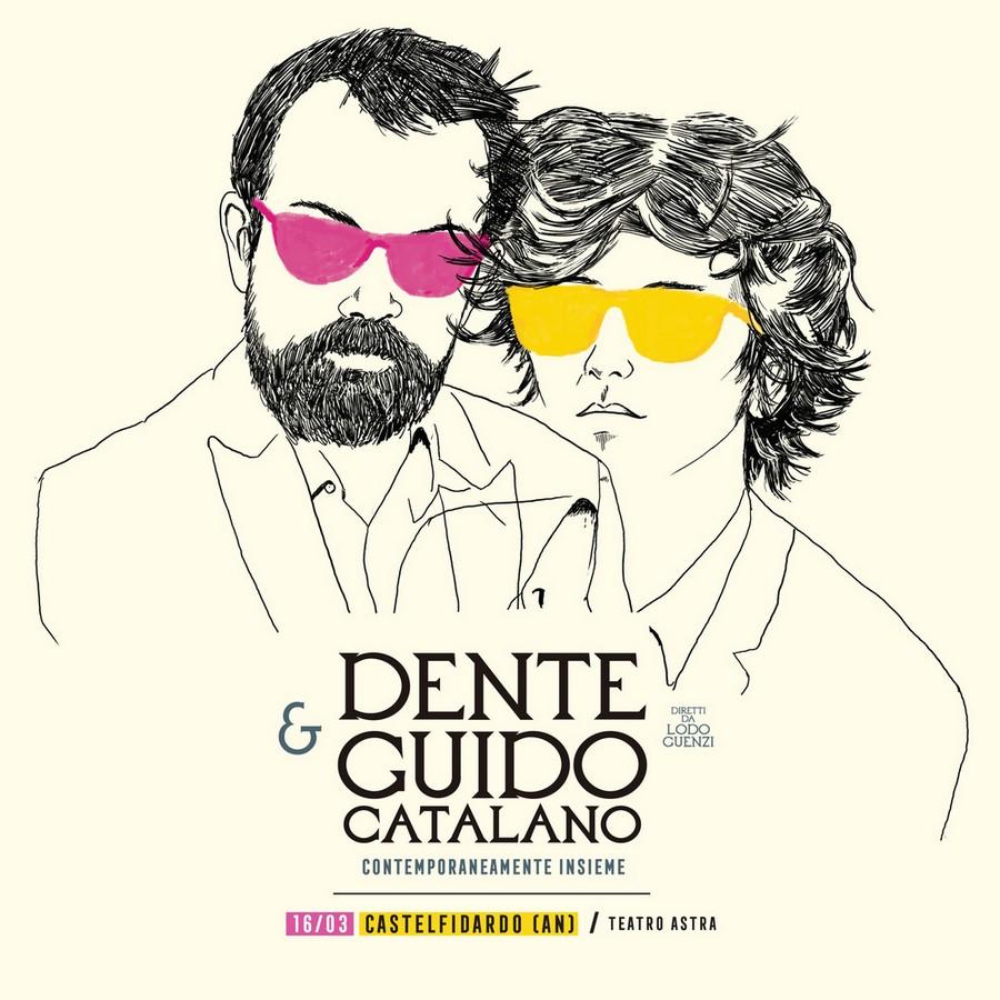 Dente e Catalano, venerdì 16 all`Astra