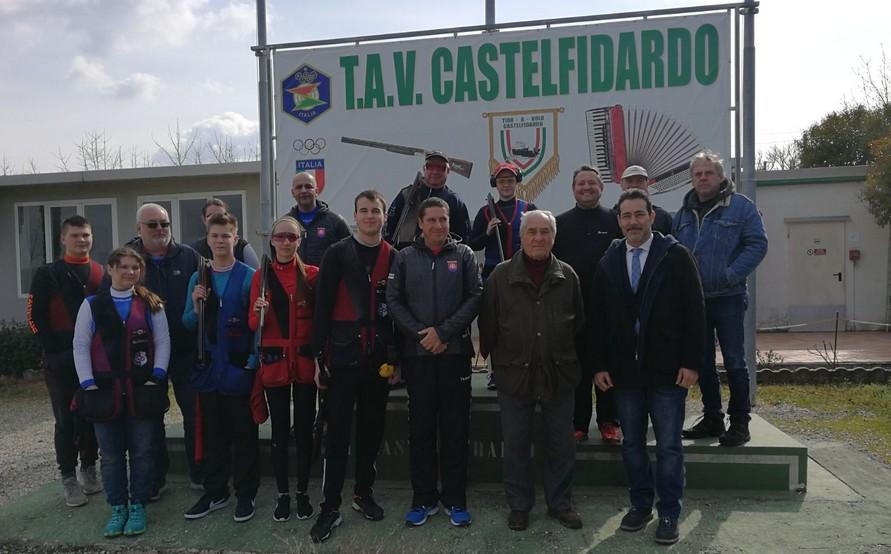 La Nazionale Slovacca si allena a Castelfidardo