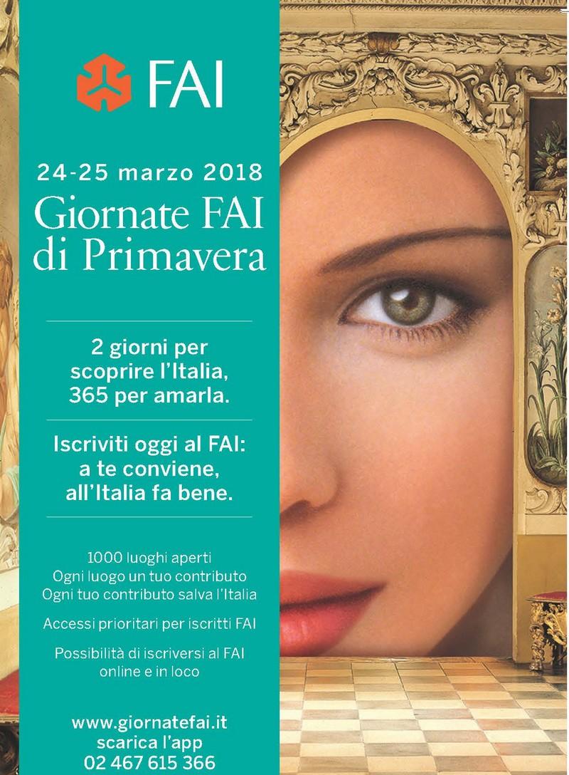 Giornate Fai di Primavera a Palazzo Tomasini