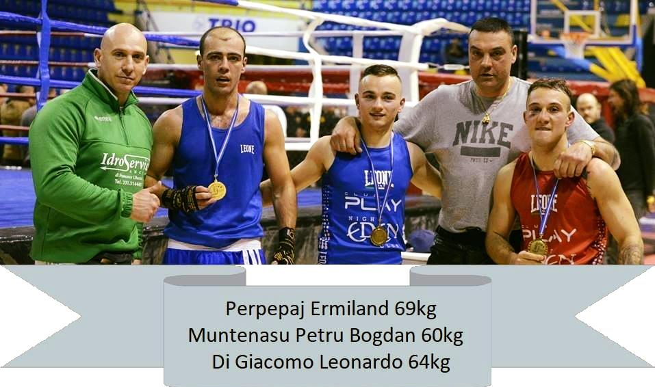 Il Boxing Club sforna tre campioni regionali