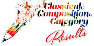 """Pif, i risultati della """"Classical composition"""""""