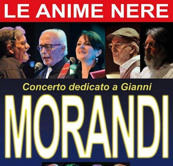 """Le """"anime nere"""" cantano Morandi per il centro Caritas"""