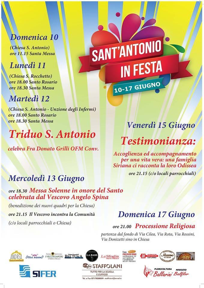 Sant`Antonio in festa