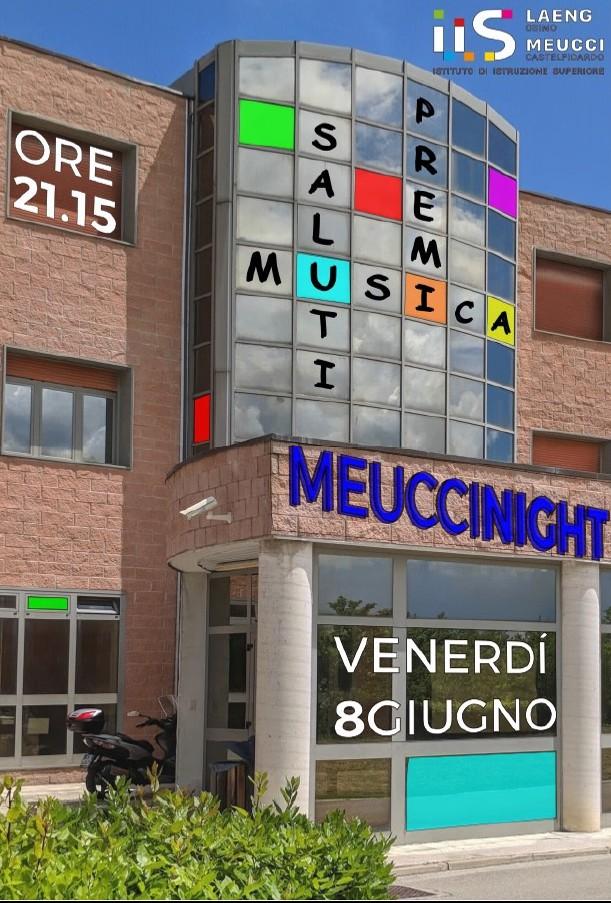 Meucci by night, cerimonia di chiusura dell`anno