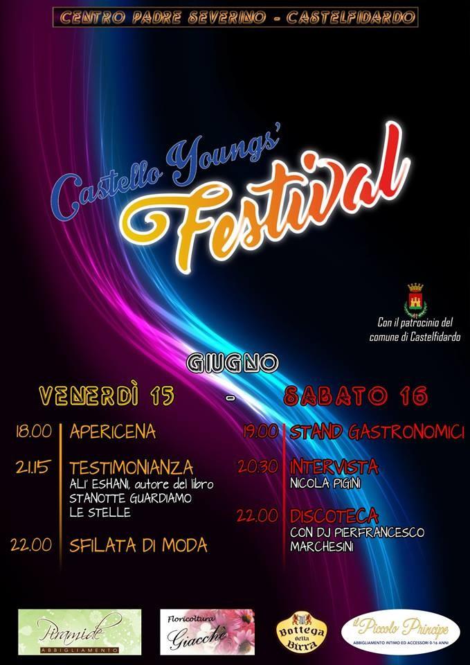 Castello young`s festival, musica e testimonianze