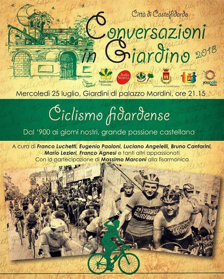 Il ciclismo fidardense alle Conversazioni