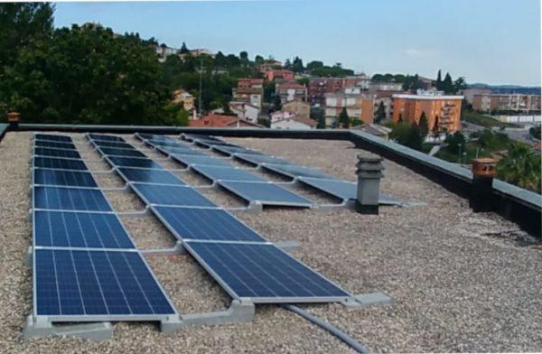 Fotovoltaico alla materna Sant`Agostino