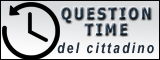 "Il debutto del ""question time"""
