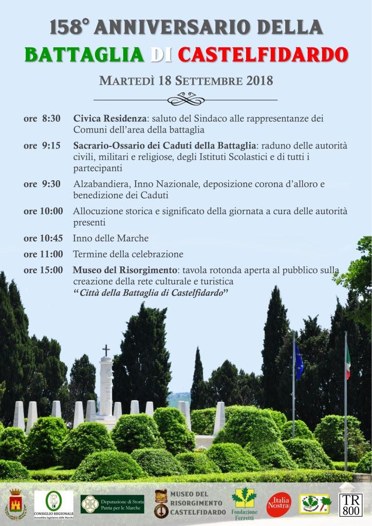 18 settembre, 158° anniversario della battaglia